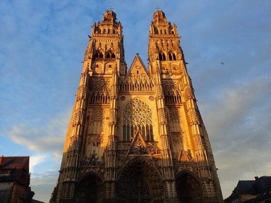 La cathédrale Saint-Gatien, à Tours